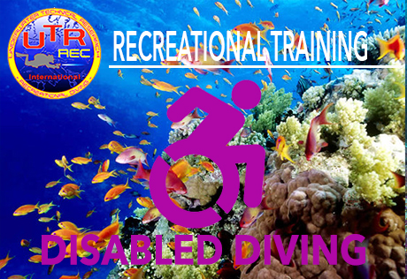 DISABLED DIVING INSTRUCTOR COURSE