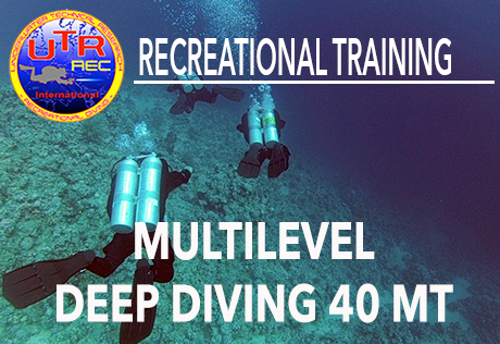 UPGRADE MULTILEVEL DEEP DIVING 40 MT